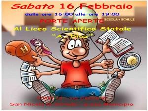 manifesto sabato 16 febbraio1